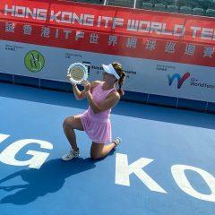 Anastasia Komardina zvítězila vHongkongu