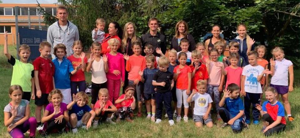 Letní tenisové kempy pro děti – TK Sparta Praha