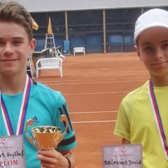 Komínek a Kotrc vybojovali medaile na Mistrovství České republiky mladších žáků