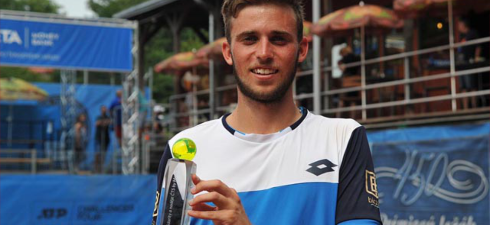 Michael Vrbenský vsemifinále ATP Challengeru naŠtvanici