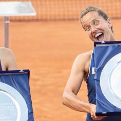 Barbora Strýcová vyhrála čtyřhru v Římě