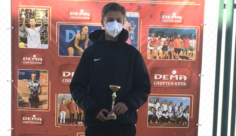 Petr Brunclík v semifinále v Sofii
