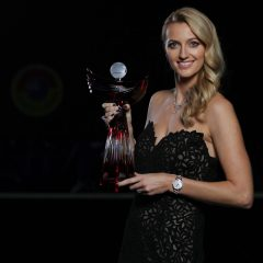 Petra Kvitová vyhrála anketu Zlatý kanár 2020