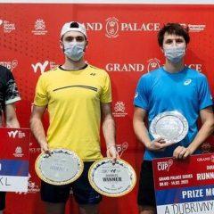 Patrik Rikl vyhrál i druhý turnaj ve čtyřhře v Petrohradě