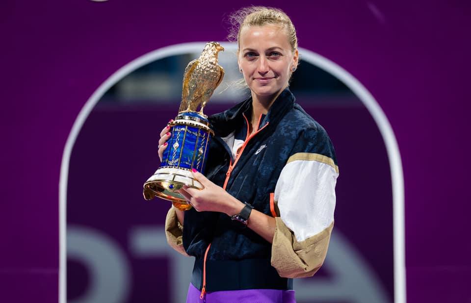 Petra Kvitová má 28.titul z Dohá