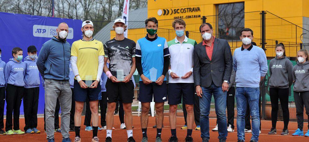 Patrik Rikl vefinále čtyřhry naATP Challengeru vOstravě