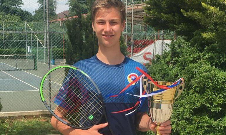 Petr Brunclík vyhrál turnaj vTiraně