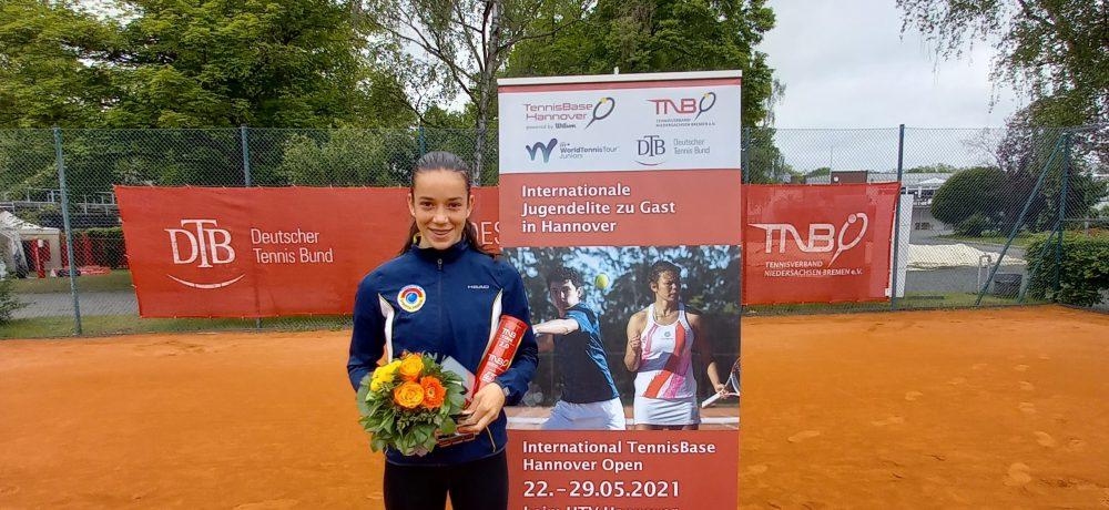 Tereza Valentová vefinále vHannover Open