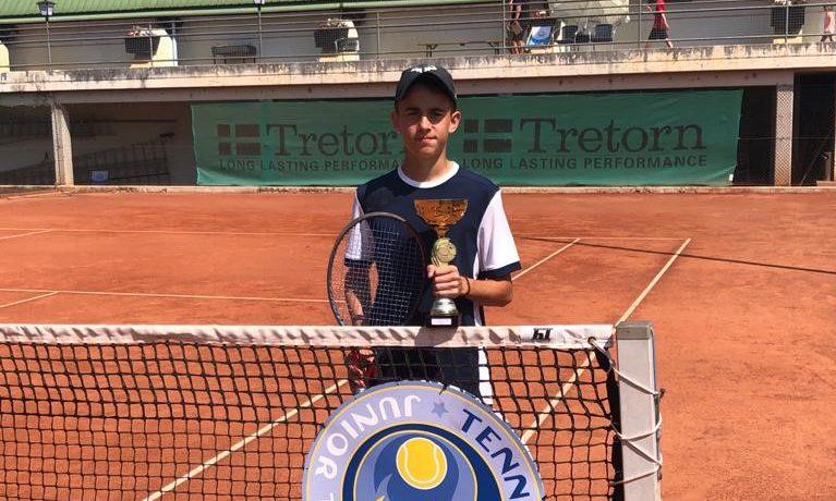 Štěpán Sklenička vítězství, Alisa Oktiabreva finále vBad Waltersdorf Junior Open