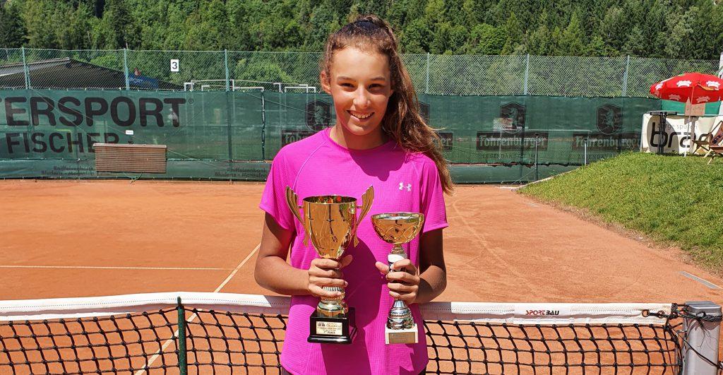 Vanessa Dobiášová vefinále Bludenz Junior Open
