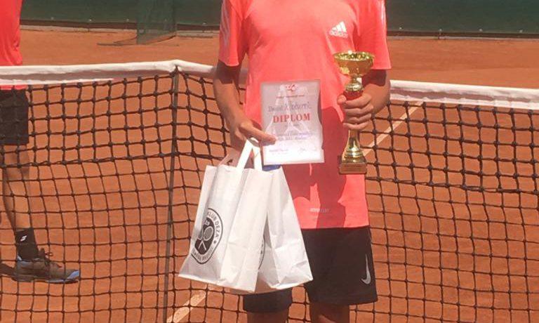 Daniel Kločurek vyhrál Wilson Cup