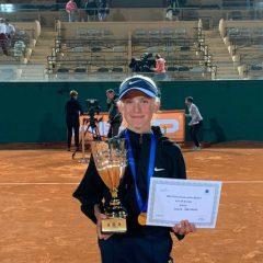 Laura Samsonová vítězka Tennis Europe Masters vMonte Carlo. Alena Kovačková na3.místě